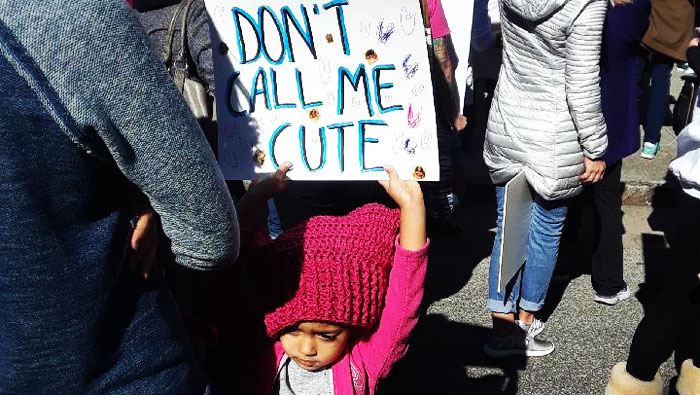 Don't Call Me Cute: Tales From The Women's March 2018